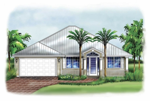 Florida House Plans - Florida Designs at Architectural Designs
